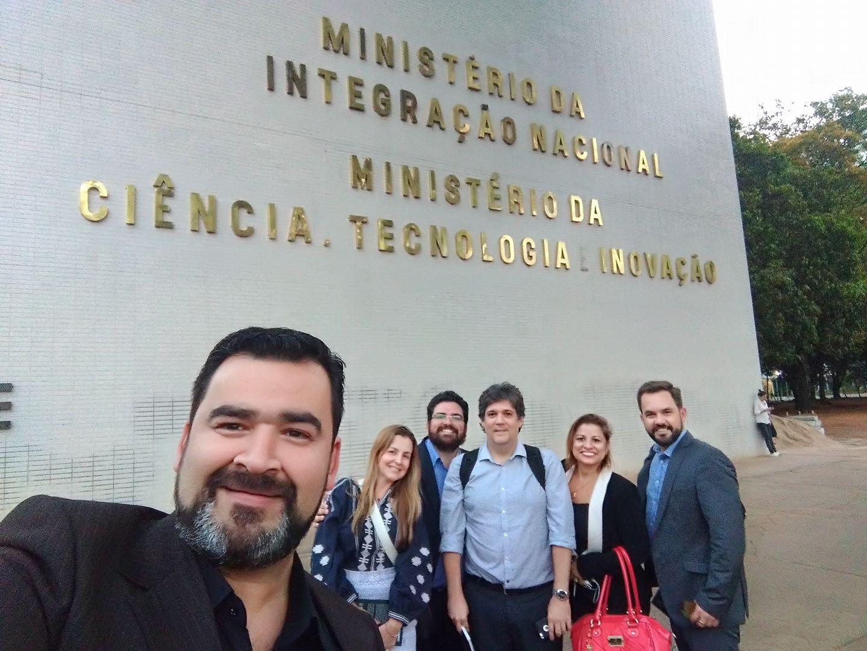 Visita ao MInisterio Ciencia Tecnologia e Inovacao 09-10-2017